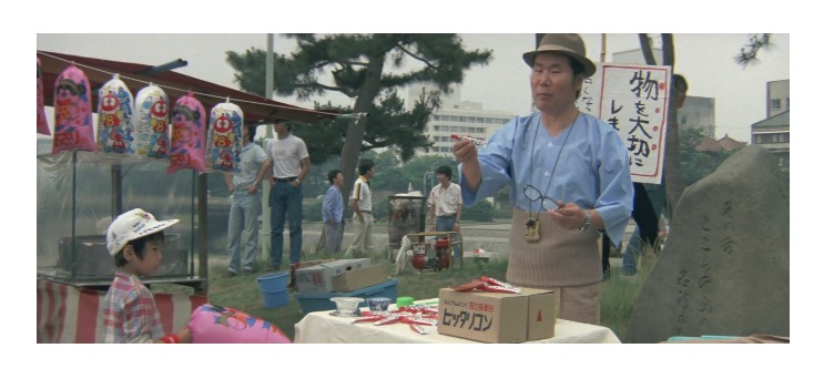 第29作「男はつらいよ 寅次郎あじさいの恋」で寅さんが啖呵売した商品「接着剤(ピッタリコン)」