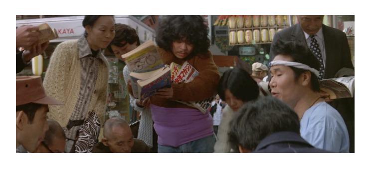 第12作「男はつらいよ 私の寅さん」で寅さんが啖呵売した商品「古本(雑誌)、寅の絵」