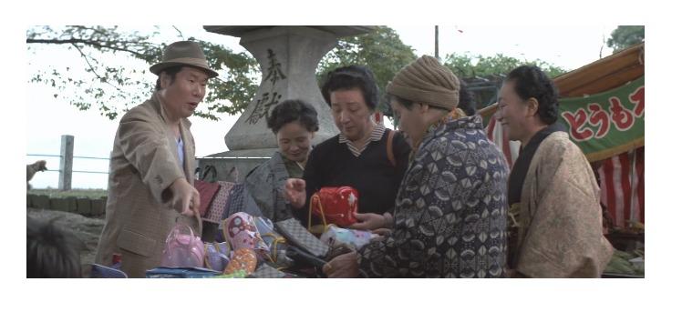 第28作「男はつらいよ 寅次郎紙風船」で寅さんが啖呵売した商品「婦人用バッグ」