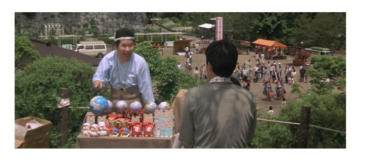 第33作「男はつらいよ 夜霧にむせぶ寅次郎」で寅さんが啖呵売した商品「地球儀」