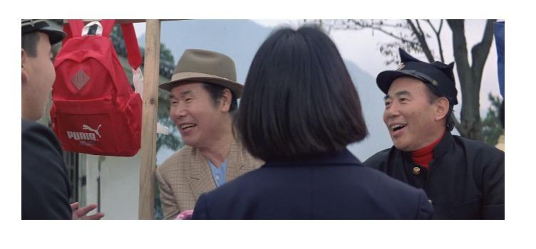 第40作「男はつらいよ 寅次郎サラダ記念日」で寅さんが啖呵売した商品「リュックサック」