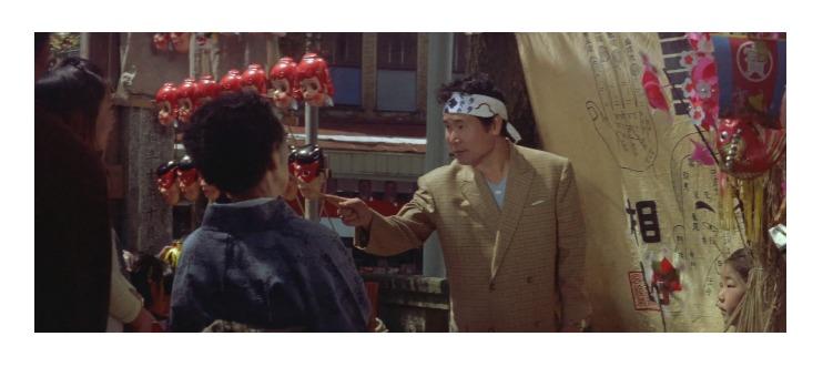 第7作「男はつらいよ 奮闘篇」で寅さんが啖呵売した商品「易本(人相・手相)」