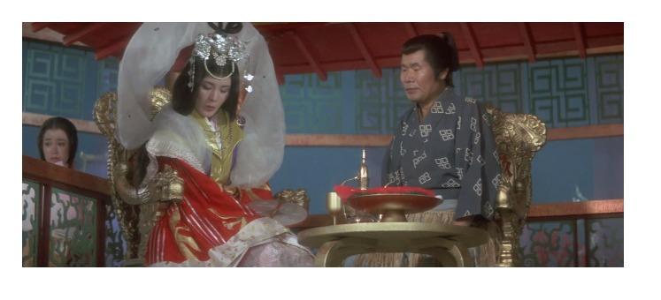 第27作「男はつらいよ 浪花の恋の寅次郎」の夢のシーン