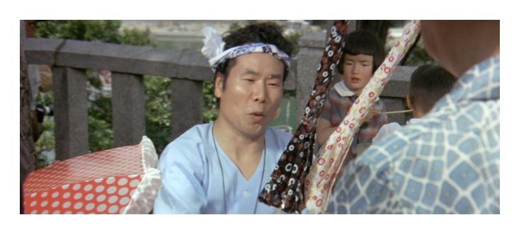 第13作「男はつらいよ 寅次郎恋やつれ」で寅さんが啖呵売した商品「傘、暦本」