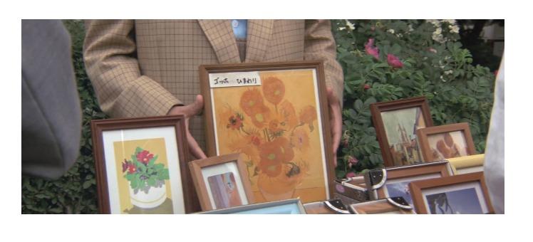 第38作「男はつらいよ 知床慕情」で寅さんが啖呵売した商品「絵画(ゴッホ)」