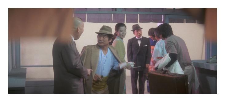 第32作「男はつらいよ 口笛を吹く寅次郎」の夢のシーン