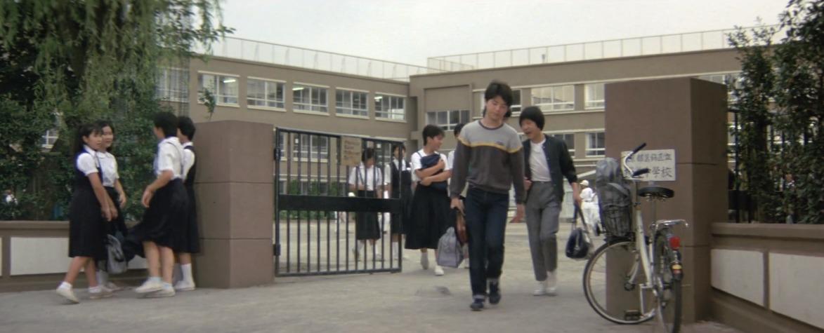 満男の中学校時代