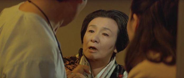 38年ぶりに実の母親・お菊(ミヤコ蝶々)と対面する寅次郎
