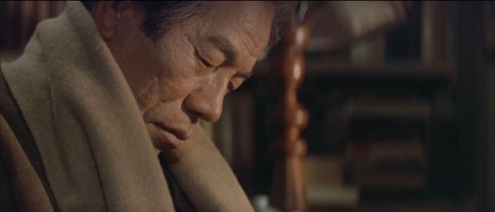 寅次郎が散歩先生の死に直面するシーン